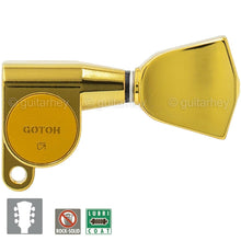 Load image into Gallery viewer, NEW Gotoh SG360-04 Tuners Set Mini Schaller Style Keystone w/ screws 3x3 - GOLD
