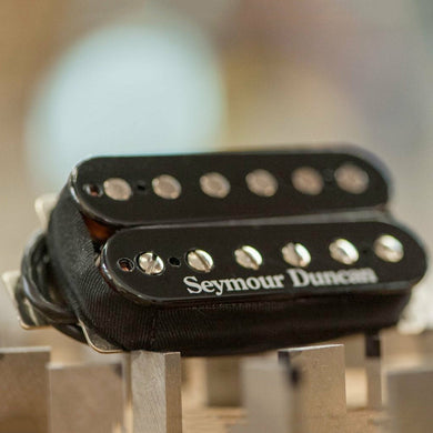 NEW Seymour Duncan TB-5 Duncan Custom Trembucker F-Spaced Bridge - BLACK