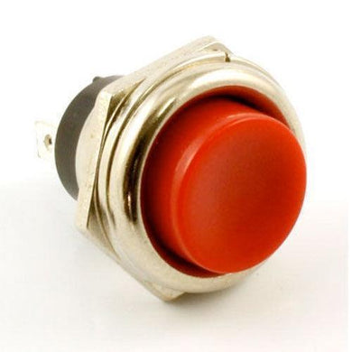 NEW Momentary Push Button KILL SWITCH For Guitar S.P.S.T. - RED BUTTON - SPST