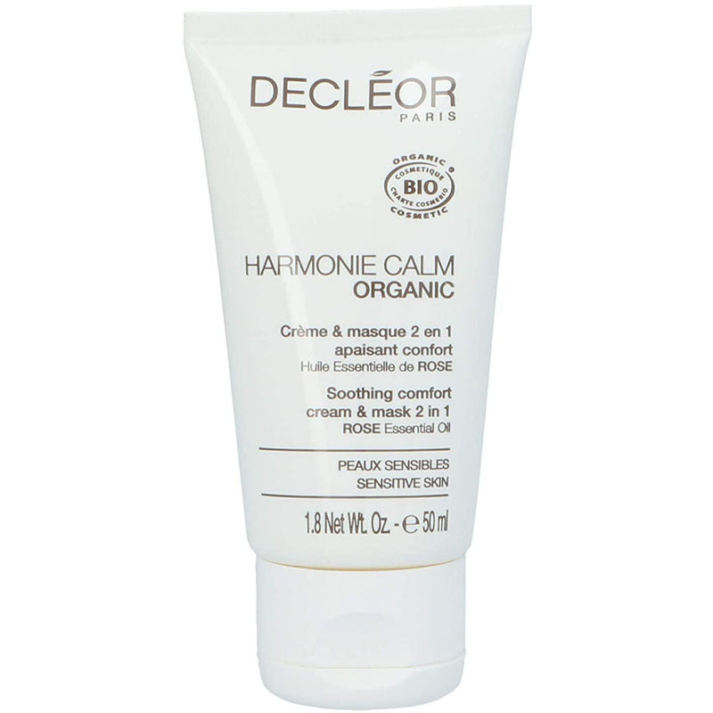 Decleor Harmonie Calm Soothing Comfort 2 in 1 cream & mask 50ml mask Decléor
