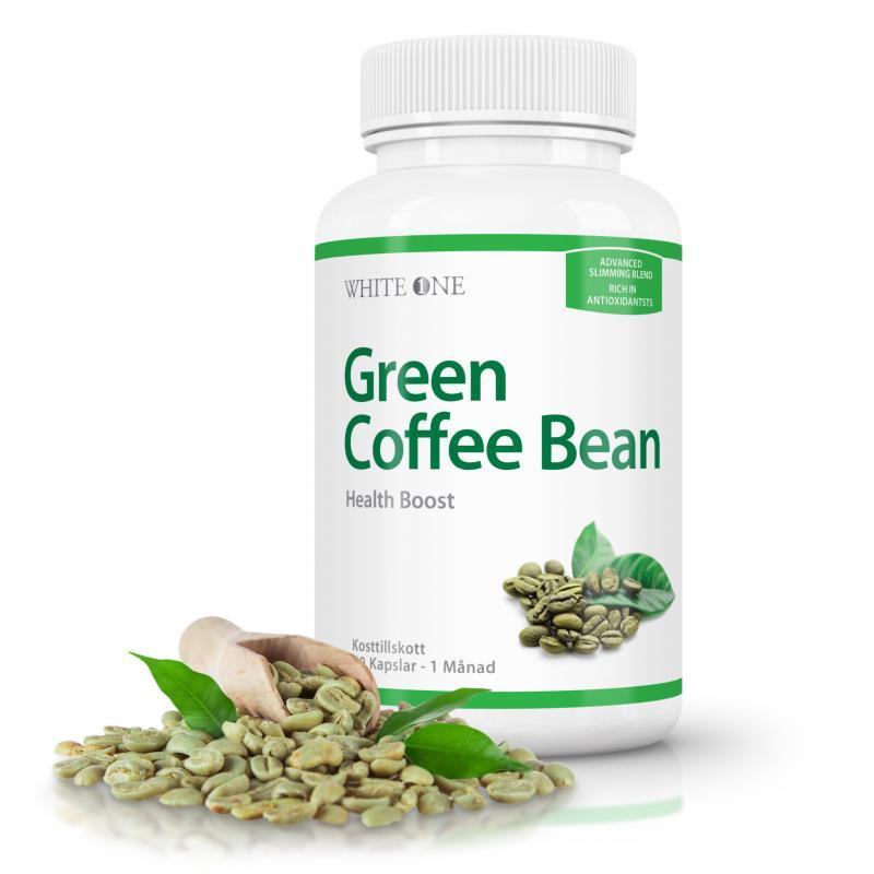 Green Coffee Bean Extract - Booster 80g supplement White One