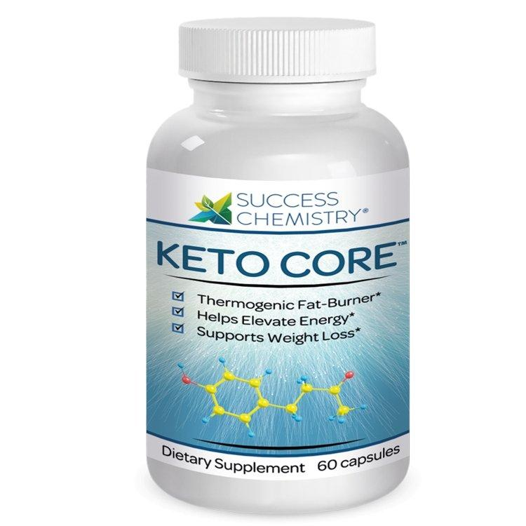 Keto CORE - Extra Strength Keto Fat Burner 120g weighlt oss Success Chemistry