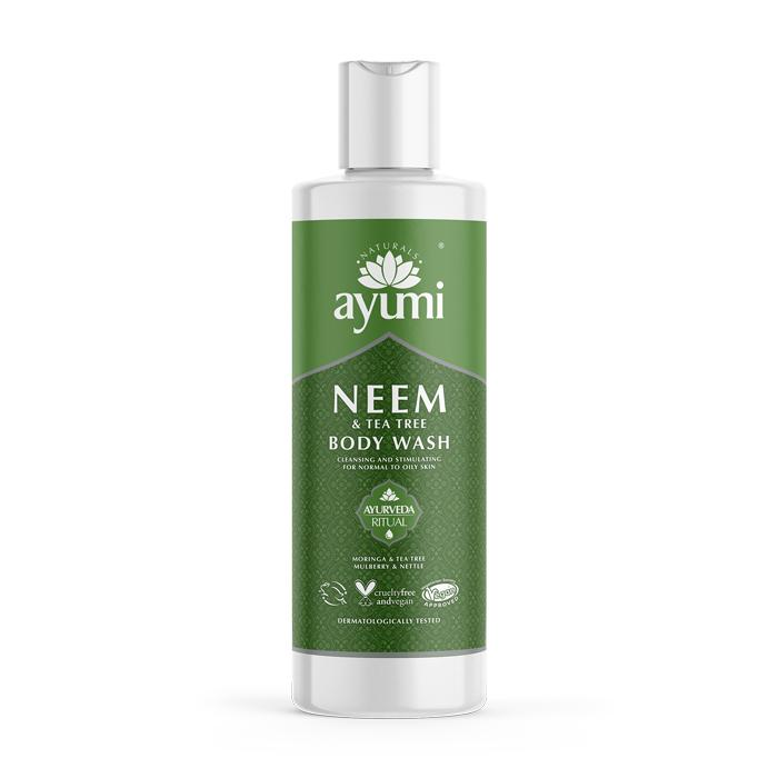 Neem & Tea Tree body Wash 250ml Ayurveda Ayumi Naturals