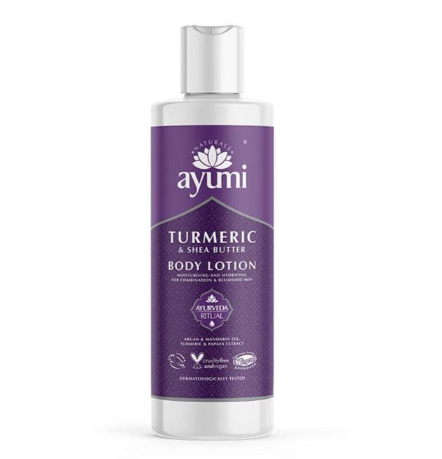 Turmeric & Shea Butter Body Lotion 250ml Health and Beauty Ayumi Naturals
