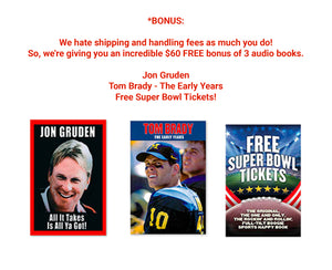 Must-reads for sports fans!  Tom Brady, Lee Roy Selmon and Joe Maddon hardcover books – plus 13 Audio and Ebooks for free!