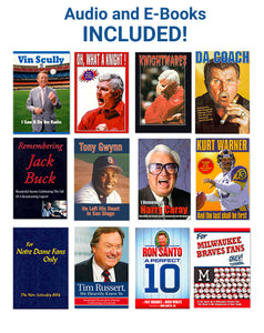 "Father's Day Sports Fan Book Package - Craig Counsell ""All It Takes Is All Ya Got"" Hardcover Book...Plus 16 additional Books (see details below)"