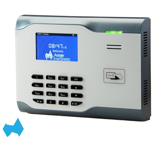 Proximity Card Clocks