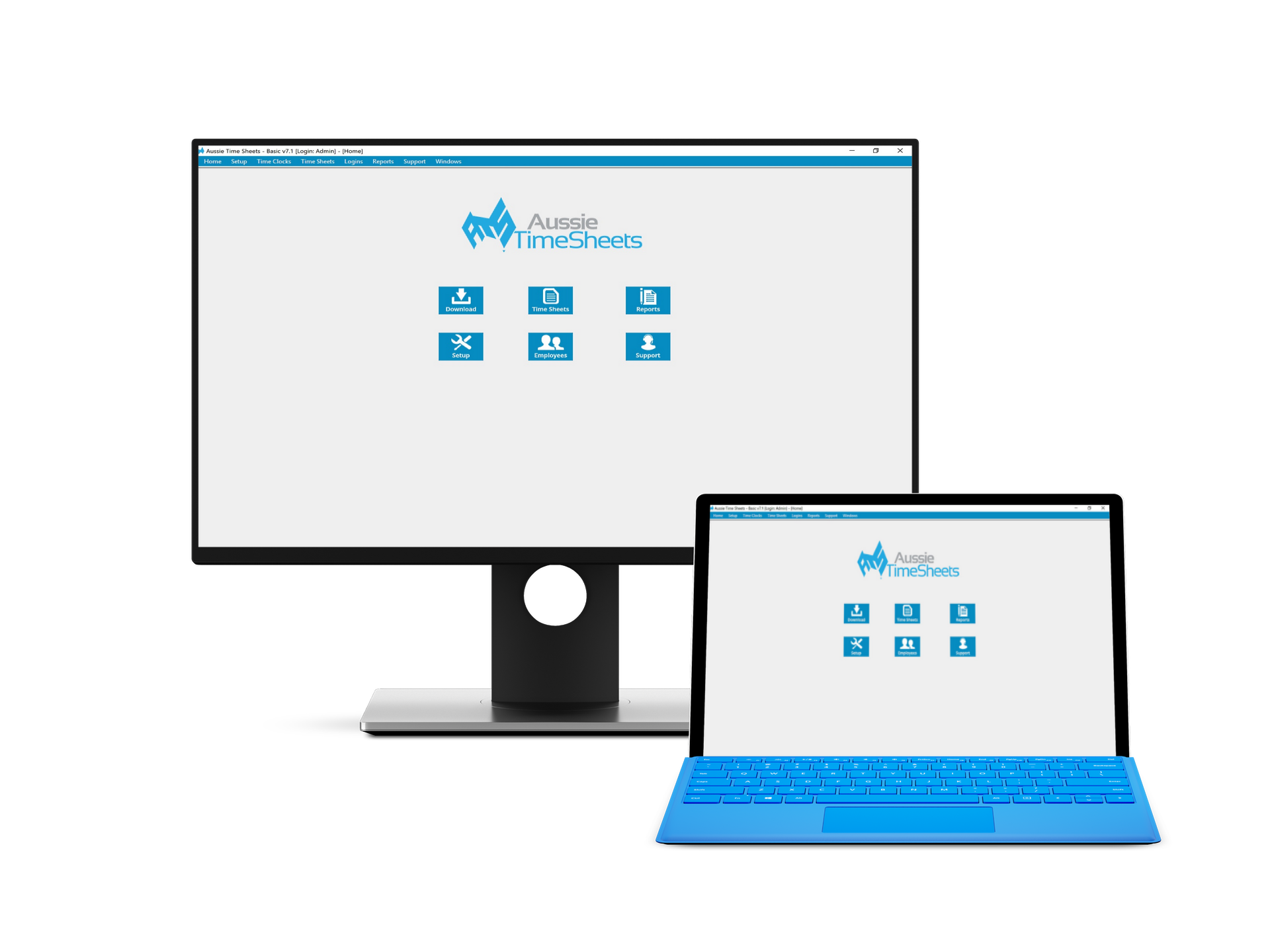 Aussie Time Sheets - Time and Attendance Management Systems