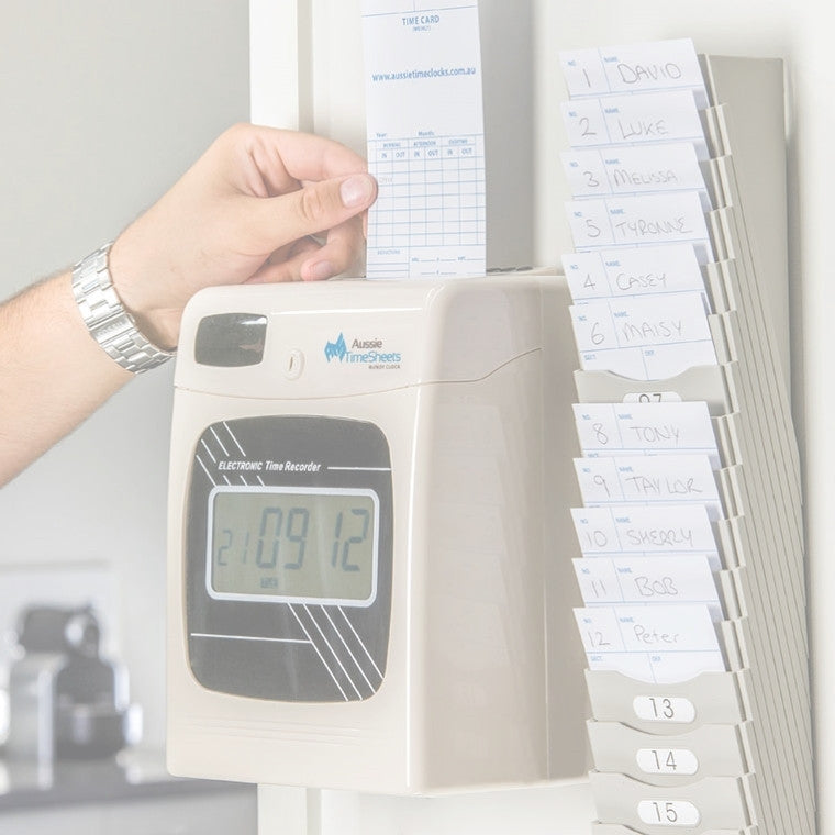 Aussie Time Sheets - Employee Time Clock and Timesheet Systems