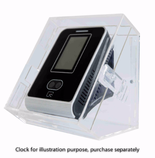 Time Clock System (Lockable, Perspex Enclosure for Face Scan Clocks)