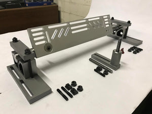 Cylinder Head Holding and Leveling Fixture for Resurfacing Heads
