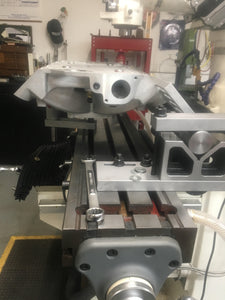 Intake Manifold Holding and Leveling Fixture for Resurfacing Heads