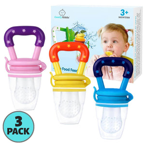Fresh Fruit Baby Pacifier | 3+ Months | 3-Pack - Comfy Kiddo™