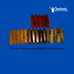 60 MM Crystal Wands - Choose Stone