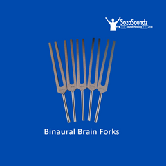 Binaural Brain Tuning Forks UWT set of 5