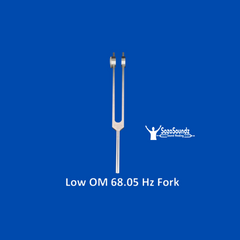 Low OM Tuning Fork 68.05 Hz