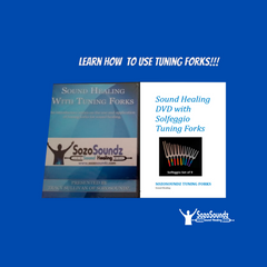 SozoSoundz Sound Healing Teaching DVD and Booklet