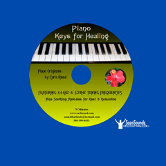 Piano Keys for Healing by Carla Reed (Acoustic Grand Piano)