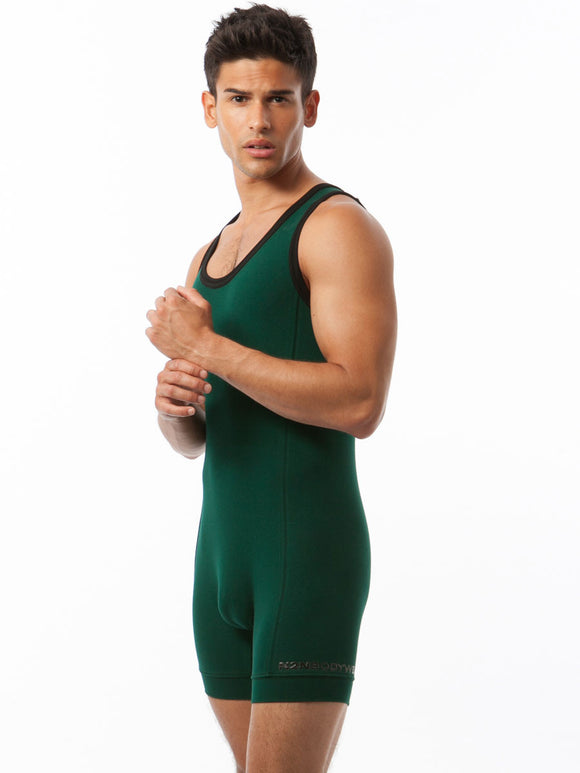 COTTON SPORT WRESTLER SINGLET