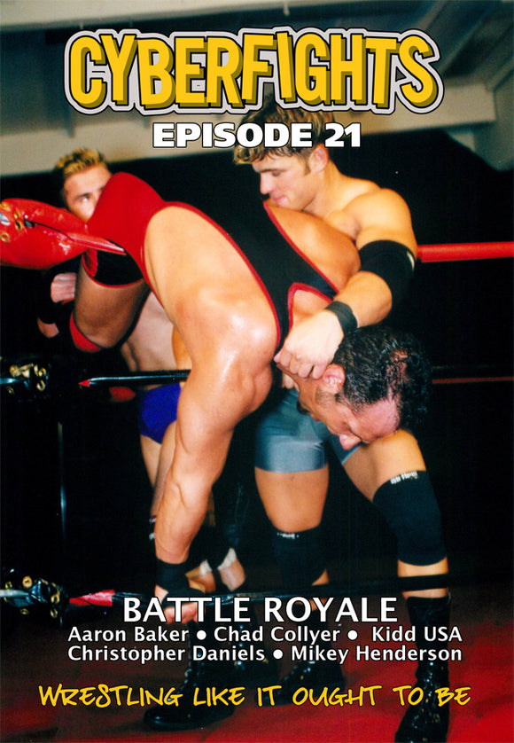 CYBERFIGHT 21 - BATTLE ROYALE (DVD)
