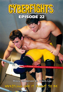 CYBERFIGHT 22 - TRAVIS LEE VS SUICIDE KID (DVD)