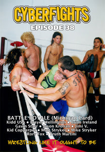 CYBERFIGHT 38 - BATTLE ROYAL (MICHIGAN CARD) DVD