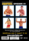 CYBERFIGHT 41 - TRIANGLE MATCH (MIKEY HENDERSON, MARSHALL KNOX, TONY HEMLOCK) DVD