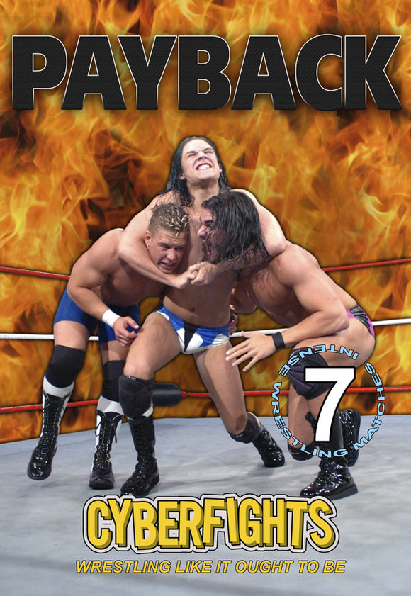CYBERFIGHTS 121 - PAYBACK DVD