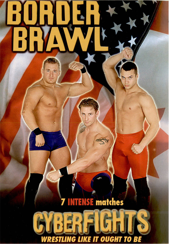 CYBERFIGHTS 93 - BORDER BRAWL DVD