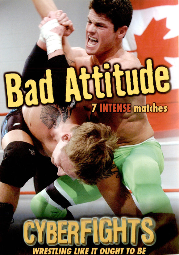 CYBERFIGHTS 99 - BAD ATTITUDE (DVD)