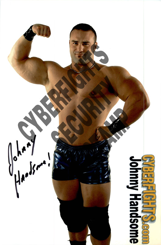 JOHNNY HANDSOME AUTOGRAPHED 8X12 PROMO PHOTO