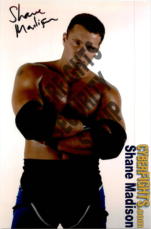 SHANE MADISON AUTOGRAPHED 8X12 PROMO PHOTO
