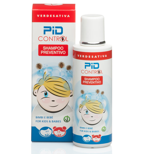 Shampoo Preventivo Pidocchi 100% naturale e biodegradabile 200ml