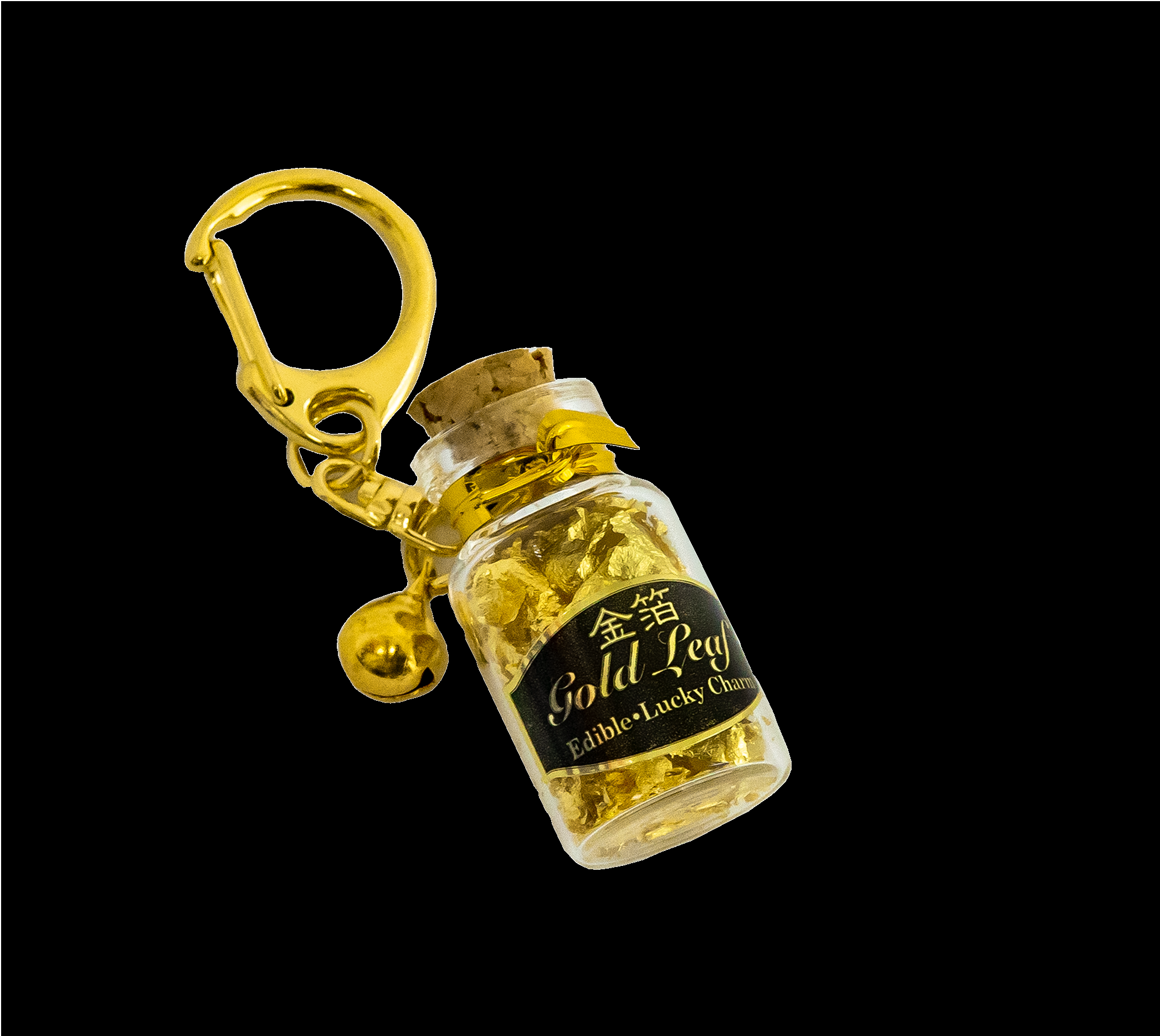 Gold leaf in a small bottle (Original Package)