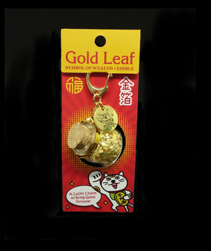 Gold leaf in a Big bottle (Maneki-Neko Package)