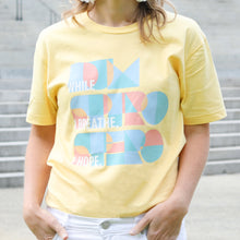 Load image into Gallery viewer, Dum Spiro Spero:  Yellow Tshirt