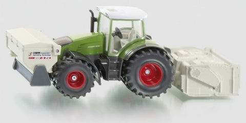 SIKU Fendt 936 Vario Tractor with soil stabilizer and binding agent 1:50