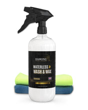 Load image into Gallery viewer, Waterless Wash & Wax Hydrophobic Spray