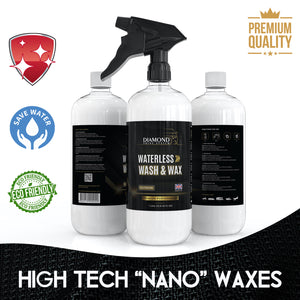 Waterless Wash & Wax Hydrophobic Spray