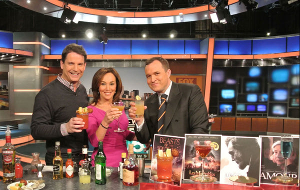 Cocktail Chameleon 2012 Oscar Viewing Party on Good Day New York