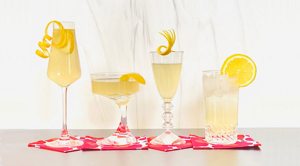 Bee's Knees Cocktail 4-Ways | Cocktail Chameleon by Mark Addison Blog