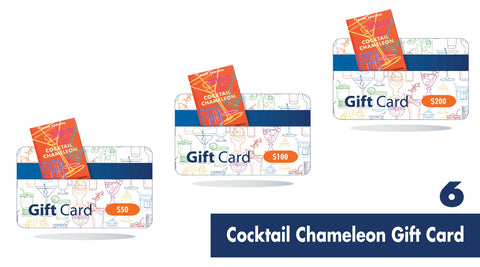 Cocktail Chameleon Gift Card | Gift Guide for Cocktail Lovers | Shop Cocktail Chameleon by Mark Addison