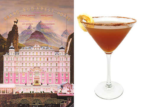 Boy with Appl Martini based on Grand Budapest Hotel