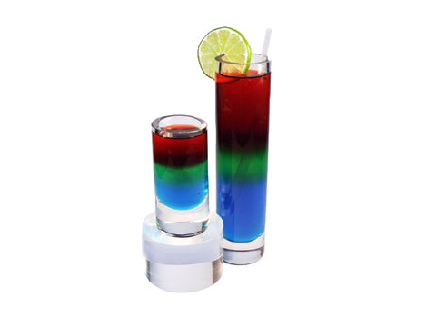 Rainbow Shooter Cocktail