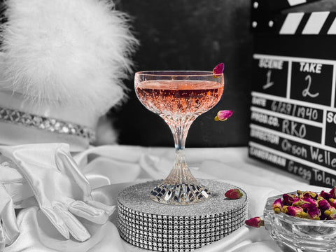 """Rosebud Cocktail for the film """"Mank"""" - 2021 Oscar Cocktail Collection by Mark Addison"""