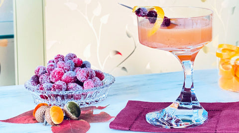 Sugared Cranberry recipe Cocktail Chameleon by Mark Addison Blog