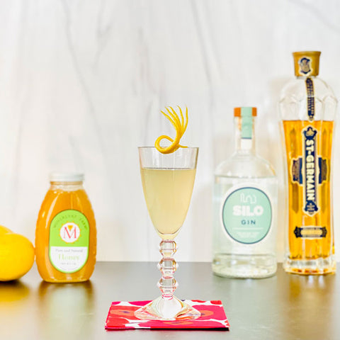 Wildflower Bee's Knees Cocktail Recipe | Cocktail Chameleon by Mark Addison Blog