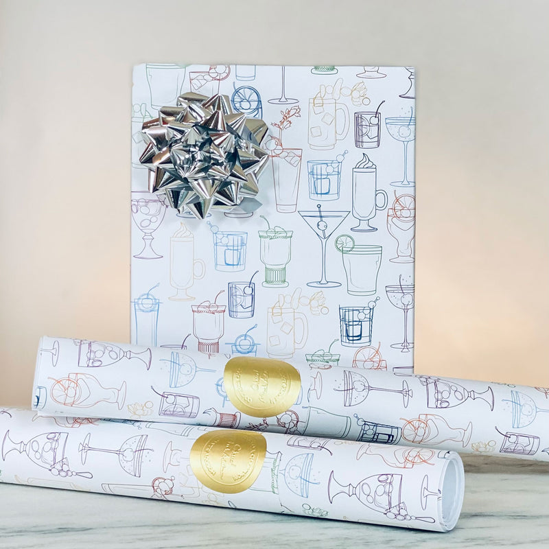 Cocktail Party Gift Wrap