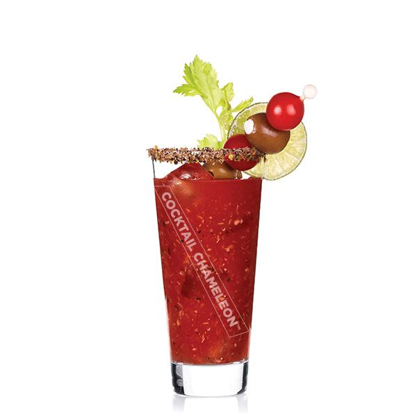 Limited Edition Cocktail Portrait: Bloody Mary watermarked image