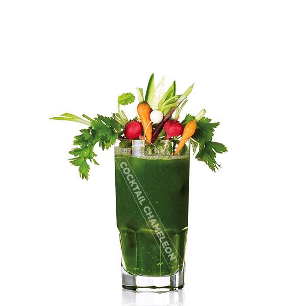 Limited Edition Cocktail Portrait: Green Mary watermarked image